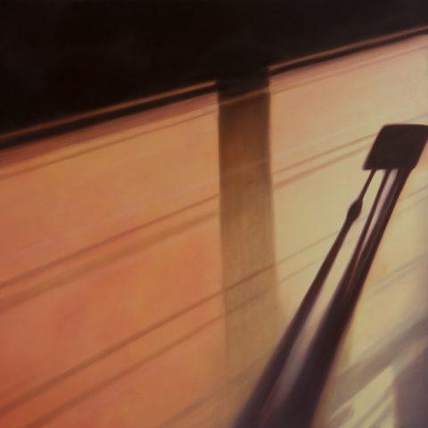 """""""El sitio del descanso"""" Óleo sobre lienzo. 170 x 120cm"""