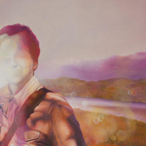 """""""Hacer el olvido"""" Óleo sobre lienzo. 50 x 60cm"""
