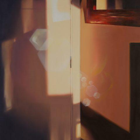 """""""Lo real será revelado"""" Óleo sobre lienzo. 140x120 cm."""
