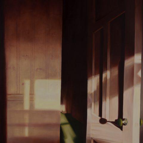 """""""Por aquí"""" Óleo sobre lienzo. 100 x 120cm"""