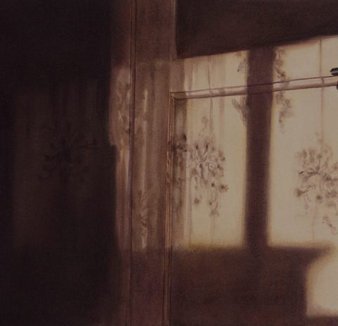 """""""Siesta"""" Óleo sobre lienzo. 35 x 60 cm"""
